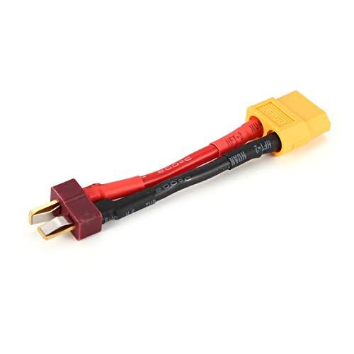 Weibliche XT60 zu T-Stecker männlich (Dekan-Art) Batterie T-Stecker Silikon-Draht-Verbindungsstück-Adapter-Konverter RC Spielzeug-Zusätze fghfhfgjdfj -