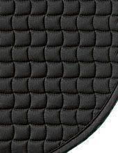 Eskadron Schabracke Cotton -Standard-, schwarz, Dressur