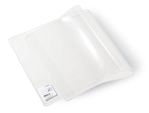 Herma 14186 Schulbuch Buchumschlag Basic, 275 x 540 mm, Kunststoff transparent, Set mit 5 Buchschonern im gleichen Format