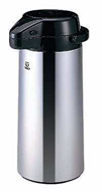 Tiger PXQ-2501 Air Pump Jug/Dispenser with Mirror Finish, 84.5-Ounce