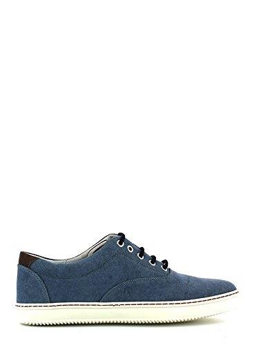 Soldini , Chaussures de ville à lacets pour homme Bleu - Jeans