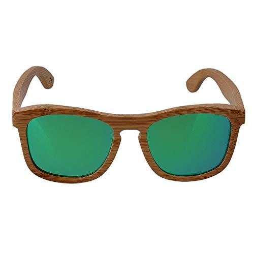 UV400 polarisierte Bambus Holz Sonnenbrillen/handgemachte Metall Scharnier Gläser für Mann und Frau, wenn Reisen, Outdoor-Sport und Aktivitäten/als Geschenke für Freunde und Verwandte