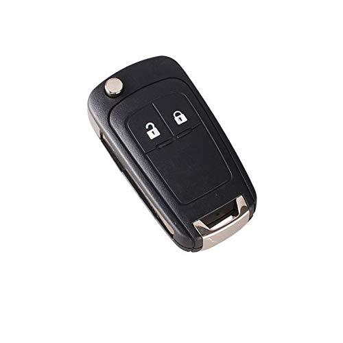 Opel Boîtier de clé pliante de rechange pour Opel Astra J Insignia Corsa E Meriva B