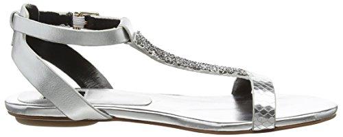 Giudecca 27, sandales ouvertes femme argent (silver)