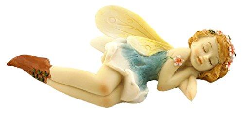 Top Collection Miniatur Garten und Terrarium Schlafsack Flower Fairy Figur -