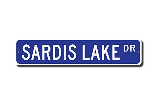 Mississippi Street Sign (C-US-lmf379581 Sardis Lake Sardis Lake Sign Mississippi Lake Sardis Lake Visitor Sardis Lake Gift Lake Lover Custom Street Sign Quality Metal Sign)
