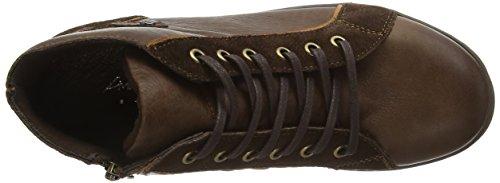 Andrea Conti - 0342700, Scarpe da ginnastica Donna Marrone (Braun (dunkelbraun 061))