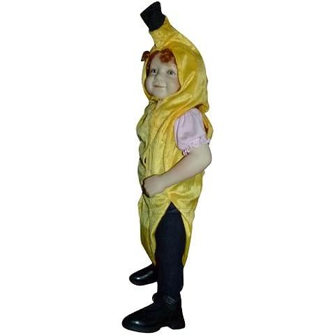 AN 70 tamaño 9-12 meses trajes de banano carnaval plátano llevan carnaval