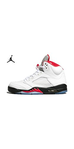 Nike air jordan 5 retro/white