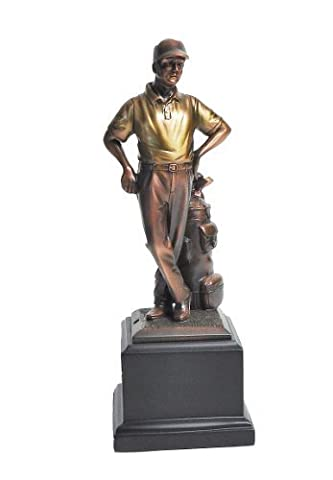 Golf Gifts and Gallery Bronzed Golfer Statue (11-Inch) by Golf Gifts & Gallery