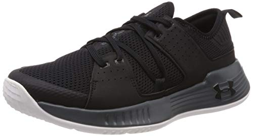 Under Armour Showstopper 2.0, Zapatillas Deportivas para Interior para Hombre, Negro Pitch Gray/Black...