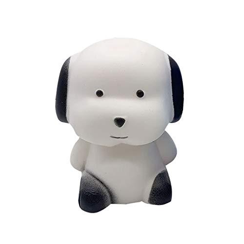 Dekompressionsspielzeug, Chshe❤❤, Entzückender Hund Mit Duftkollektion Slow Rising Stress Reliever Toys (Weiß)