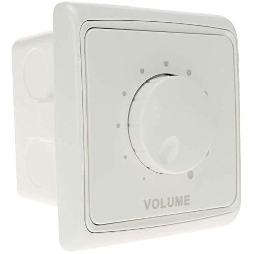 BeMatik - Control de Volumen empotrable 10W para Altavoz