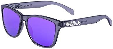 Northweek Regular Bright Grey - Purple Polarized - Gafas de sol unisex, gris