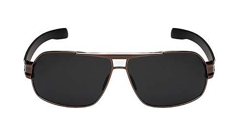 FIYOMET Square Polarized Sunglasses Herren Driving Mirror Driver Polarizer Qualitätsbrille P3258