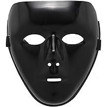Freebily Máscara de Fiesta Mascarada Hombres Mujeres Máscara Completa de Monstruo Hockey para Halloween Carnaval Cosplay