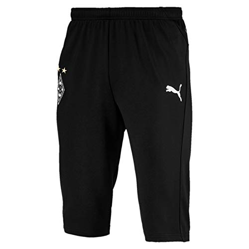 PUMA Herren BMG Training 3/4 Pants Without Pockets Trainingshose, Black, M -