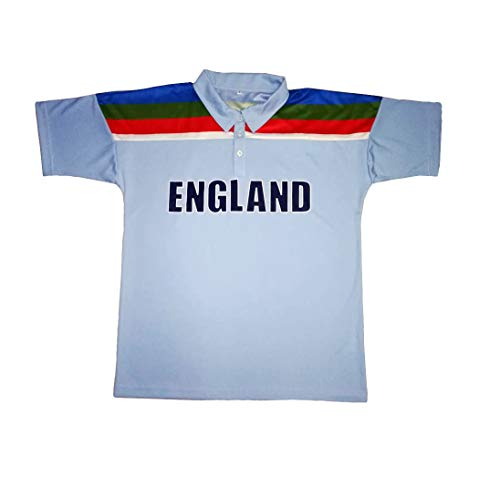 ToplineLuna England Wales 2019 Cricket World Cup Sports Shirt Trikot Kit Aufb/ügler