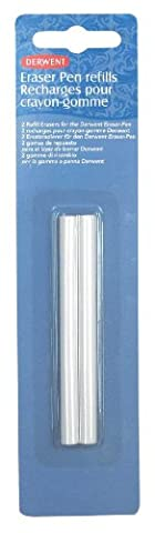 Derwent Eraser Pen Refills Blister Pack of 2