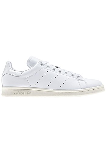 adidas Originals Herren Stan Smith Turnschuhe, Weiß (Ftwbla/Ftwbla/Ftwbla), 40 EU (Smith Herren Schuhe)
