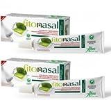 ABOCA -FITONASAL POMATA 2 CONFEZIONI DA 10 ML sollievo per irritazione nasale e perinasale, protettiva per la mucosa