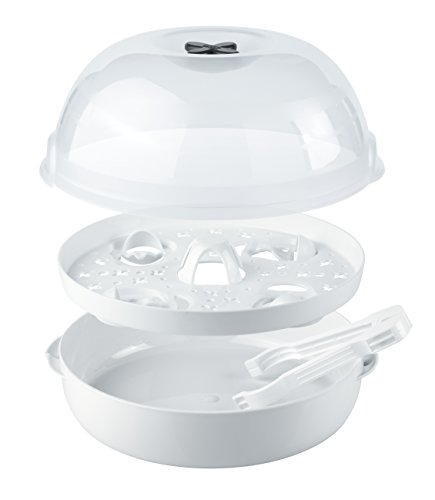 NUK Micro Express Plus Mikrowellen Sterilisator, für bis zu 4 Babyflaschen und Zubehör, schnell, effektiv und gründlich - 2