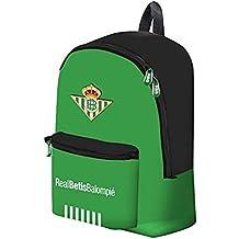 Mochila Grande Real Betis 2018/2019 Double Zipp. Medidas: 36X16X42CM