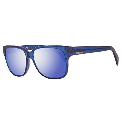 Diesel Unisex-Erwachsene Sonnenbrille DL0074 5583X, Blau, 55 Preisvergleich