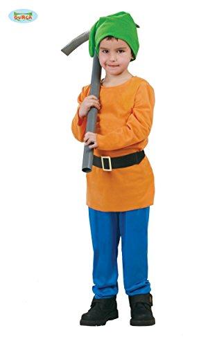 G - Größe 127-132 cm ( 7-9 Jahre ), Märchen Prinzessin 7 sieben Zwerge (7 Zwerge Kostüme Für Kinder)