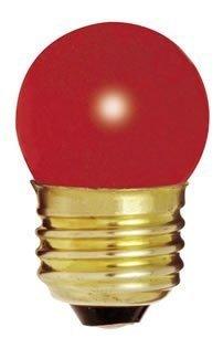 bulbrite 702707 - 7.5s11r - 7.5 Watt rot S11 Zeichen Glühlampe, mittelgroßer Sockel