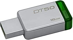 DataTraveler 50 is a lightweight USB Flash drive available in capacities from 8GB to 128GB. The drive's compact, cap less design features a metal casing that complements any compatible device and colorful accents that range by drive capacity. Backwar...