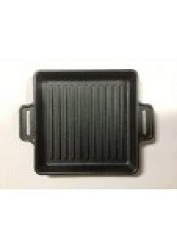 BBQ-Profi CIG Powerpan Grate massive Gusspfanne geriffelt - Bbq Lifter Grill