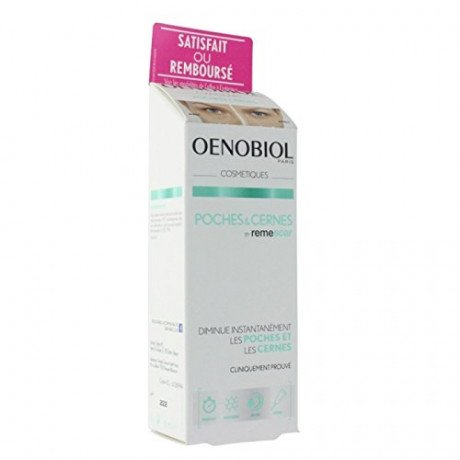 Oenobiol cosmétiques - crema poches & cernes by remescar, tubetto da 8 ml