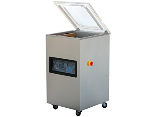Preisvergleich Produktbild Kammer Vakuumiergerät mit Edelstahlgehäuse, Industrie-Vakuumpumpe, innenliegenden Schweißbalken und Digitalpanel, PM-VC Serie