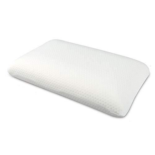 SJTCP Almohada De Látex Pirelli, Cojines De Jabón De Diseño Ergonómico para Vértebra Cervical...