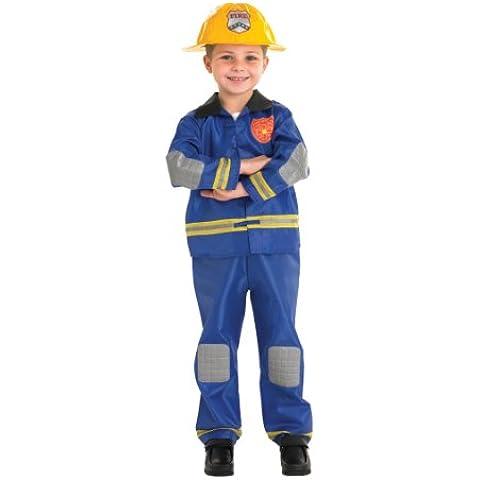 Rubie's 889518S - Disfraz de Bombero para niño (3 años)