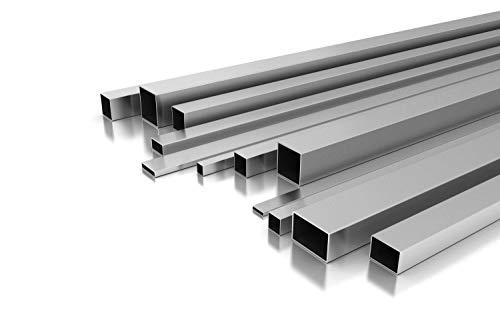 Edelstahl Vierkantrohr 100 x 100 x 2 mm x 2.000 mm +-5 mm