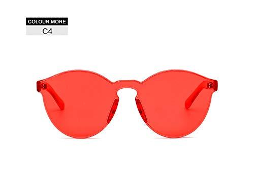 2THTHT2 Cat Eye Sonnenbrillen Candy Farbe Frauen Kühlen Kunststoff LuxusPersönlichkeitRot