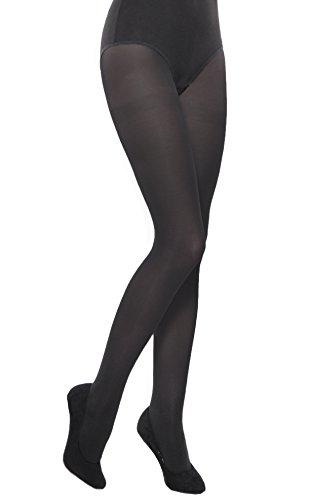 School plain black opaque girl