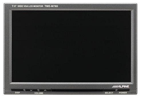 Alpine TME m780-monitor zu Farben von 7Zoll Alpine Tv-tuner