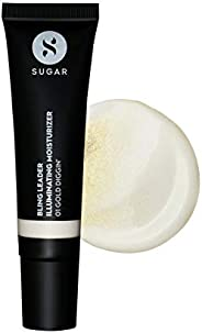SUGAR Cosmetics Bling Leader Illuminating Moisturizer - 01 Gold Diggin' - Warm gold with a pearl finish Hi
