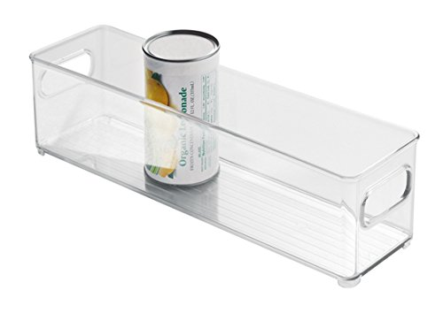 Lazy Für Schränke Die Susans, Küche (InterDesign Fridge/Freeze Binz Kühlschrankbox, stapelbarer Aufbewahrungsbehälter aus Kunststoff, durchsichtig)