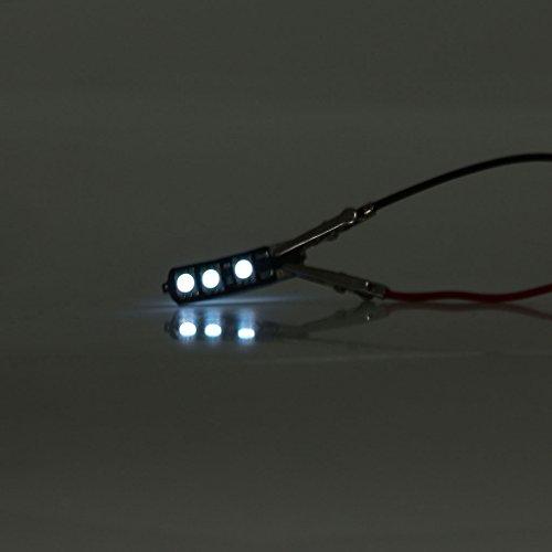 10pcs T10 5050 6SMD W5W LED Lampe Clignotant Feu Avertissement Ampoule de Largeur Lecture Tail - Blanc