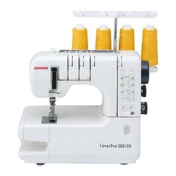 Machine à points de recouvrement JANOME 1000CPX - Garantie 5 ans
