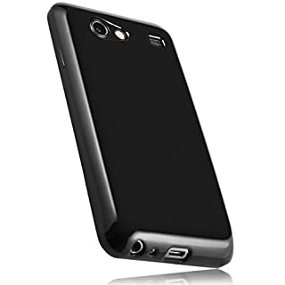 mumbi TPU Silikon Schutzhülle für Samsung Galaxy S Advance schwarz