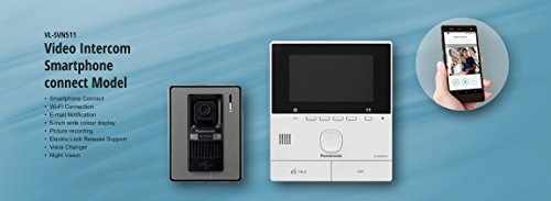 Panasonic video intercom system with smartphone connect (VL-SVN511SX)