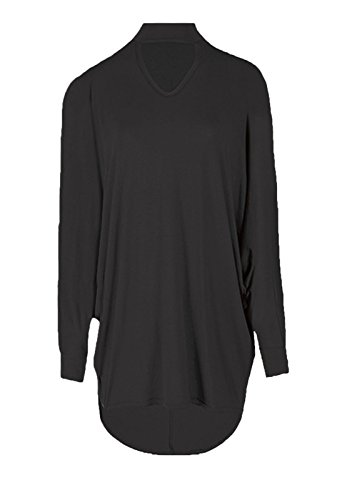 Fashion & Freedom Damen T-Shirt Schwarz