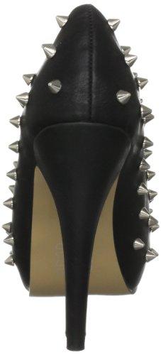 Abbey Dawn  Wth Peeptoe Leopard , Escarpins femmes Noir-V.6