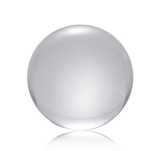 Prima05Sally 50mm / 80mm / 100mm Kristallkugel Quarzglas Transparente Kugel Kugeln Feng Shui Glaskugel Miniaturen Ornamente Geschenk -
