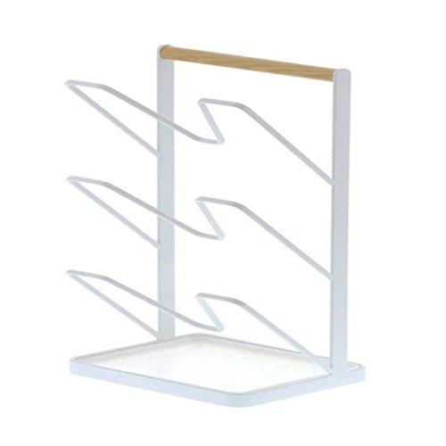 Alian Multi Funktion Deckelhalter Edelstahl Kche Storage Rack Topfhalter Fr Kchenschrank